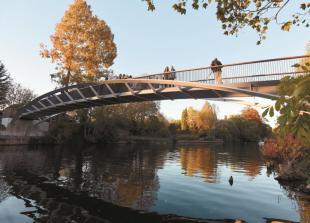 Public invited to name new footbridge