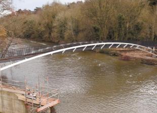 Taplow footbridge wins building design award