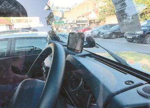Police campaign raises awareness about valuables in cars