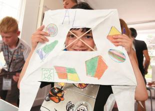 In pictures: Norden Farm kite festival workshop