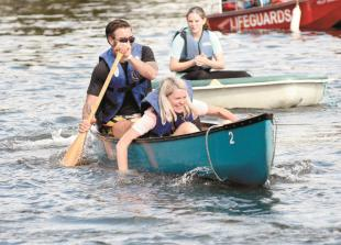 In pictures: Hurley Regatta sees racing bathtubs take to the Thames