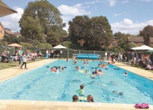 Louis Baylis Trust lends its support to Polehampton Swimming Pool refurbishment