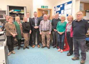 Royal Borough leader visits Citizens Advice charity