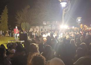 Video: Thousands turnout to enjoy Burnham Christmas lights switch-on and fayre