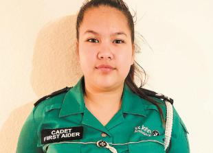 Cippenham teenager named St John Ambulance Cadet of the Year for Thames Valley