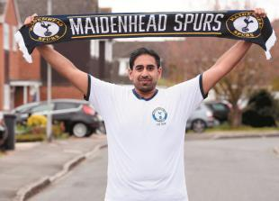 Maidenhead Spurs raise almost £500 for NHS staff