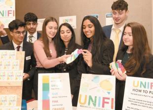 Student entrepreneurs from Burnham create free printable self-isolation activity pack