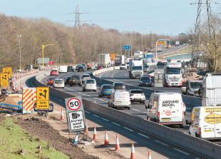M4 set for weekend closure