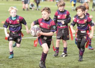 Donation from Louis Baylis Trust will help fund rugby coaching in primary schools