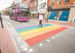 Pride-themed crossings get the red light, due to poor public response