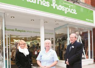 Thames Hospice reopens all 22 retail stores and calls for support