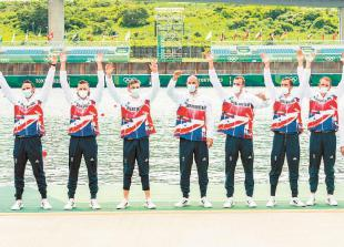 Sbihi's bronze with men's eight continues the Maidenhead medal rush