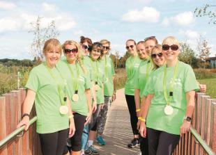 Thousands raised for Thames Hospice in annual Sunflower Walk