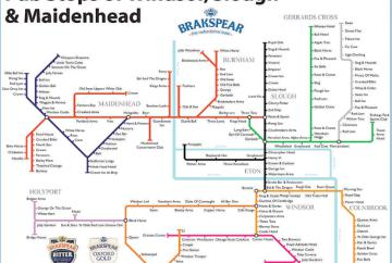 'London Underground' style map of town's pubs revealed