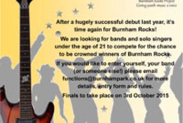 Last chance for entries for Burnham Rocks