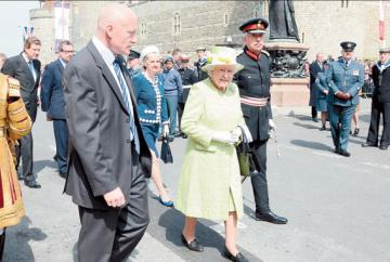 The Queen's 90th birthday in Windsor