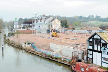 Skindles development makes progress as £1m homes go on the market