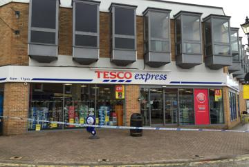 UPDATE: Tesco Express in Burnham High Street shut by police following armed robbery