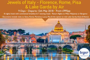 Reader offer: Jewels of Italy