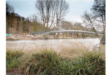 The Big Picture: The new Ray Mill Island footbridge by Joy Tracy