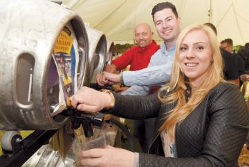 More than 1,000 people attend Pinkneys Arms beer festival