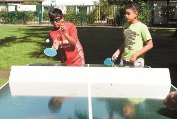 Free ping pong tables installed at Burnham Park