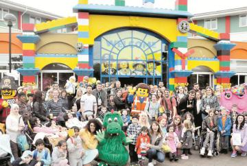 Alexander Devine charity families treated to trip to Legoland