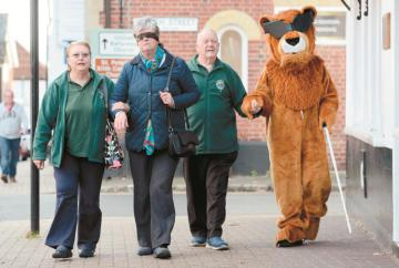 Burnham Lions raise awareness on World Sight Day
