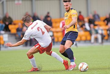 Slough Town suffer rare home defeat as Bishop's Stortford take the points