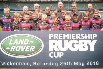 Maidenhead RFC Under-11s meet World Cup winners in day out at Twickenham