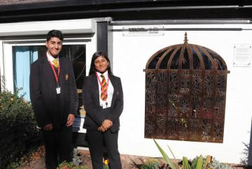 Anglo-Indian architecture inspires Burnham Library installation