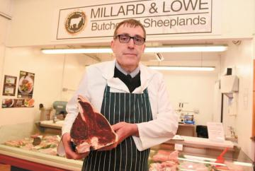 Butcher takes on supermarkets to preserve his business