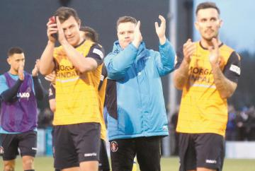 Baker calls for perspective from fans after Slough Town's defeat to Truro City