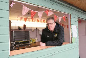 Thieves break in to Holyport FC tea bar