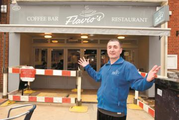 Furious Maidenhead bistro owner claims gas works are 'killing my business'