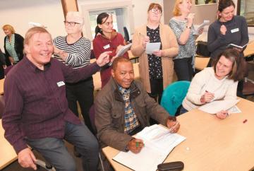 Burnham writer hosts creative writing taster session