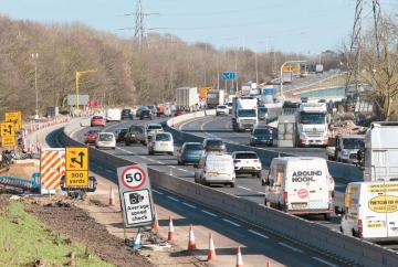 M4 closure scheduled for the weekend