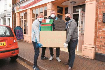 Burnham restaurant supplies free meals to staff at Wexham Park Hospital