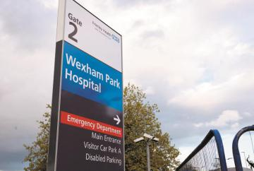 Update on how many people are in hospital with COVID-19 at Frimley Health Trust