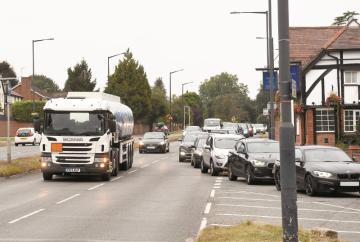 Services urge residents to think twice before storing fuel