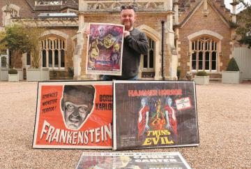 Classic film fair set for gothic backdrop this Halloween
